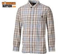 Karierte Herren-Freizeithemden & -Shirts Hemd-Stil aus Polyester