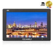 FEELWORLD T7 7inch IPS Camera Field DSLR HD Monitor w/ F970 Battery Plate