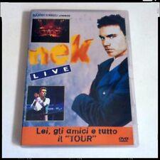 """NEK LIVE Lei, Gli Amici E Tutto Il """"TOUR"""" Raro DVD Fuori Catalogo  Laura Non C'è"""