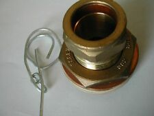 28mm Essex Flange | No Stop | CF1RNS | Hot Water Cylinder Connection