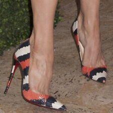 CHRISTIAN LOUBOUTIN So Kate Python Ayers Size 36.5