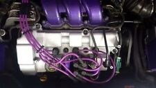 PURPLE 8MM PERFORMANCE IGNITION LEADS FOR THE MONDEO ST220 MKIII 3.0i V6 24V HT