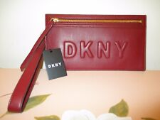$118.00 DKNY TILLY LG SLIM WRISTLET PURSE~AUTHENTIC!!~NWT