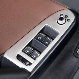 Passend für Audi A4 A5 Fensterheber Rahmen Blenden Edelstahl Zierrahmen