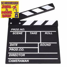 Clapper Board ~ Hollywood Movie Style Prop ~ 20cm x 20cm ~ Red Carpet Dress Up