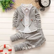 Baby Boys Cute Clothing Sets Toddler Outfits For Kids Boys Coat+Pants 2pcs Suit