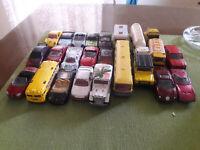 Diecast cars,trucks, bus Matchbox, Hotwheels, Majorette from '80s, '90s, '00s