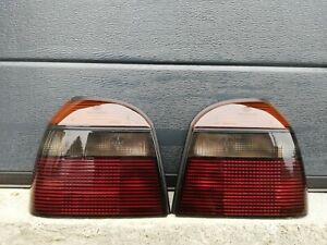 Volkswagen Golf MK3 GTI 16V/ VR6 HELLA Black Smoked Tail Lights SET