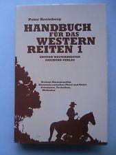 Handbuch für das Westernreiten 1 von 1988 Reiten Pferde