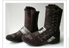 Diesel Women's High Top Lace Up Casual Sneaker Boots Suade Size 7.5 Fast Ship