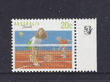 Reprint Stamps 20c Tennis 1K Right Selvedge