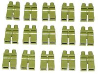 LEGO LOT OF 12 NEW OLIVE GREEN MINIFIGURE LEGS PANTS BODY PARTS PIECES