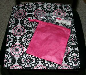 Thirty One Accessories Gift Bag Memory Pouches Pink or Blue Set NEW