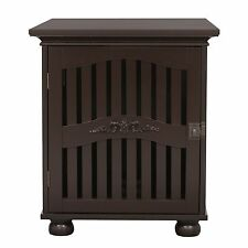 309 Ethan's Pet Buddy's Cozy House, pet crate, house, Small, dark espresso