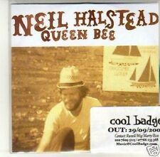 (J596) Neil Halstead, Queen Bee - DJ CD