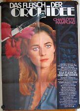 FLEISCH DER ORCHIDEE (Plakat '75) - CHARLOTTE RAMPLING / SIMONE SIGNORET