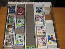 2002 Fleer Tradition  Baseball Base & Inserts Large Lot Approximately 1114 Cards
