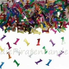 Tischkonfetti Zahl 1 DEKO Konfetti Geburtstag Party