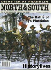 North & South V11 1 Plantation Franklin Fort Sumter Gallatin Tennessee Civil War