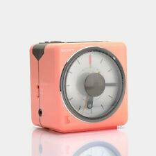 Sony ICF-A10W Pink AM/FM Alarm Clock Radio