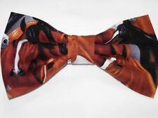Horse Bow tie / Majestic Horses / Pre-tied Bow tie