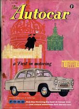 AUTOCAR MAGAZINE 1959-1/5 TRIUMPH HERALD ROAD TEST - JAGUAR TO MAJORCA