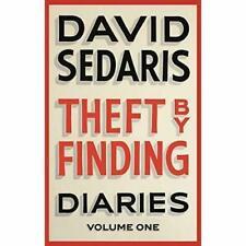 Theft by Finding Diaries Volume One Sedaris David Good Book