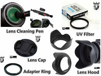 FK25 Lens Hood + Lens Cap + Adapter FA-DC67A + UV Filter + Lens Pen for Canon