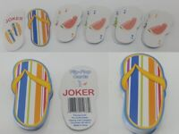 Flip Flop Sandals Mini Playing Cards Rainbow Colors 52 Jokers United States Co