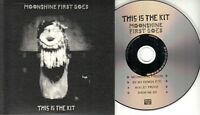 THIS IS THE KIT Moonshine First Goes 2017 UK 4-trk promo CD EP