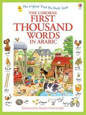 Usborne My First Thousand Words in Arabic Book NEW
