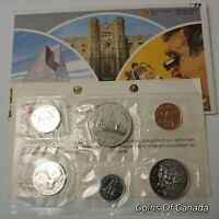 1979 Canada Prooflike 6 Coin Original Set Multiple Sets Available #coinsofcanada