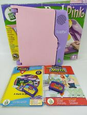 Leap Pad Pink Learning System With 2 Books And Cartridges