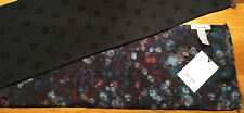 "Paul Smith ""MAINLINE"" SCARF POLKA & FLORAL REVERSIBLE 136cm x 20cm Made in ITALY"