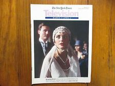 March 27-1994  N Y Times TV Mag(LOUISE LOMBARD//STELLA GONET/THE HOUSE OF ELIOTT