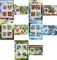 Bees Birds Dolphins Wild Cats Animals Fauna Mozambique MNH stamp set 10 sheets