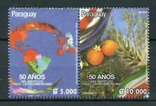 Paraguay 2018 MNH IILA Italo-Latin American Institute 2v Set Flags Nature Stamps