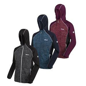 Regatta Walbury Womens Hoodie Hooded Full Zip Fleece Jacket Coat Jumper RRP £60