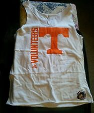 Ladies Adidas Tennessee Vols Tank - Size XL - White
