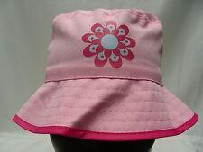 Rosa - Poliéster- Juventud Talla Única - Sombrero de Pescador Sol Gorra