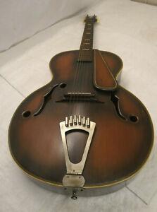 Vintage PHOENIX? VIOLIN SHAPED ACOUSTIC GUITAR  6 Strings Instrument Japan #714
