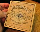 ANTIQUE HASTINGS and Co GOLD LEAF BOX 20 BOOKS 500 SHEETS NEVER USED