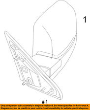 Ram CHRYSLER OEM 13-16 3500 FRONT DOOR-Mirror Assembly Left 68231241AI