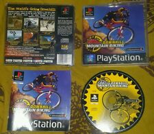 MOUNTAIN BIKING DOWNHILL NO FEAR - PlayStation 1 PS1 Gioco Game Play Station