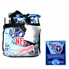 Tennessee Titans NFL Team Throw Blanket and Tote Bag Set CLOSEOUT