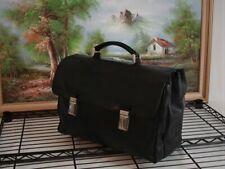 Prada Cowhide Leather Authentic Briefcase Laptop Case Travel Bag Business Case