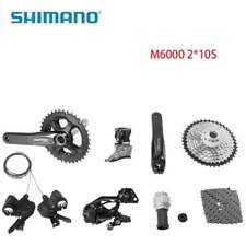 2018 Shimano Deore M6000 MTB Groupset Bike Group Hydraulic Brake38-28t 2x10s
