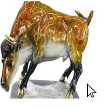 Hot Cast Ltd Edition Stock Market Bull Bronze Sculpture Figurine DecorBm
