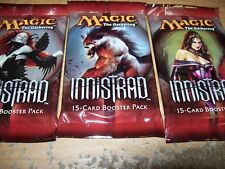 (3) MTG INNISTRAD SEALED BOOSTER PACKS FREE SHIPPING WITH TRACKING
