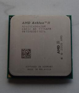 AMD AthlonII X4 605e 2,3GHz 4(AD605EHDK42GM)AM2+/AM3Prozessor 45W FSB - 997 MHZ